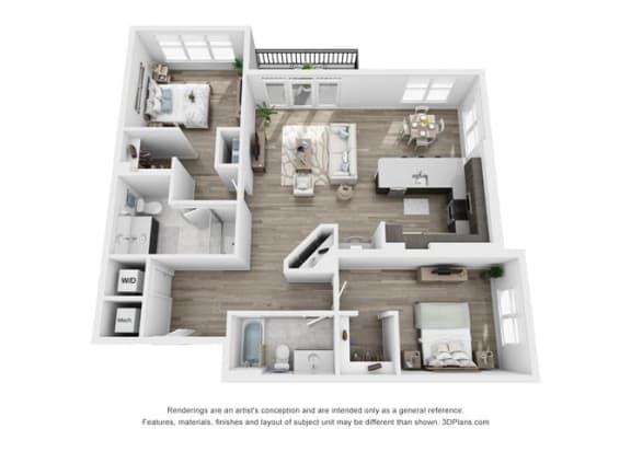Pierce Floorplan