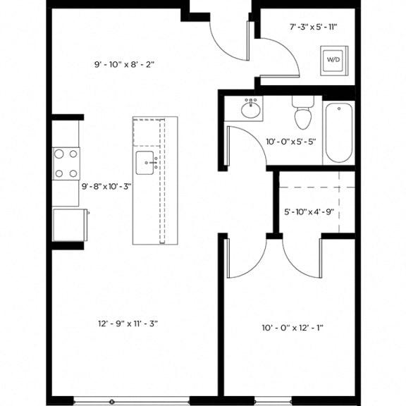 Atlas 1G Floor Plan