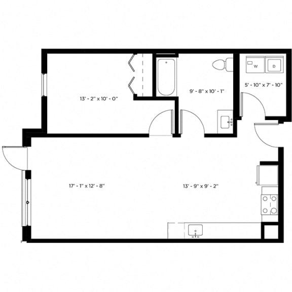 Atlas 1H Floor Plan