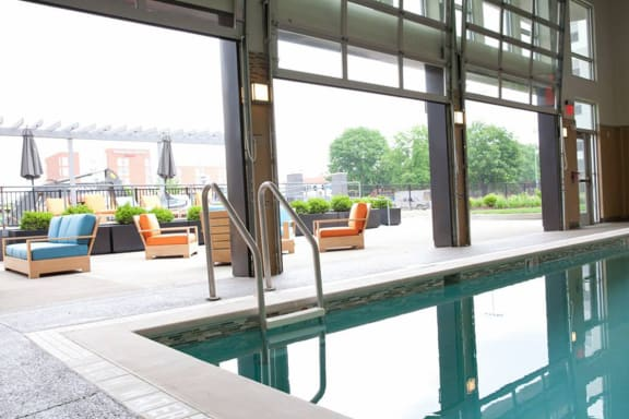 Indoor Pool, apartments in Pittsburgh, PA 15206