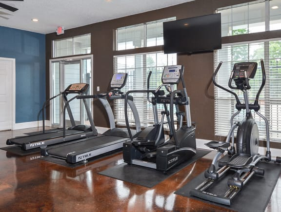 Cardio Equipment at the Fitness Center
