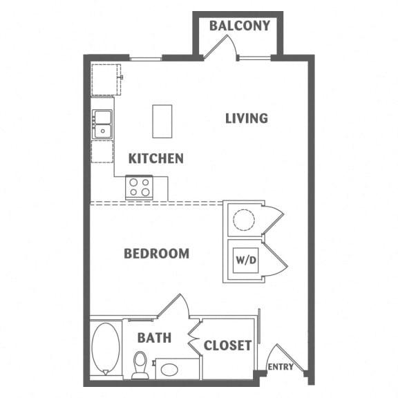 one bedroom downtown san antonio apartments