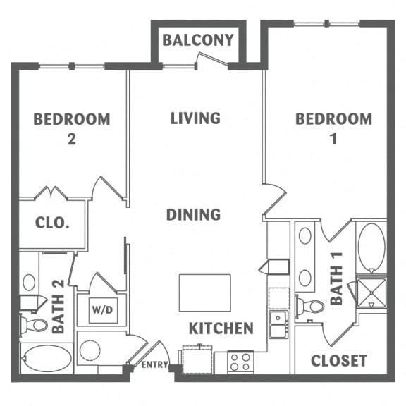 two bedroom downtown san antonio apartments