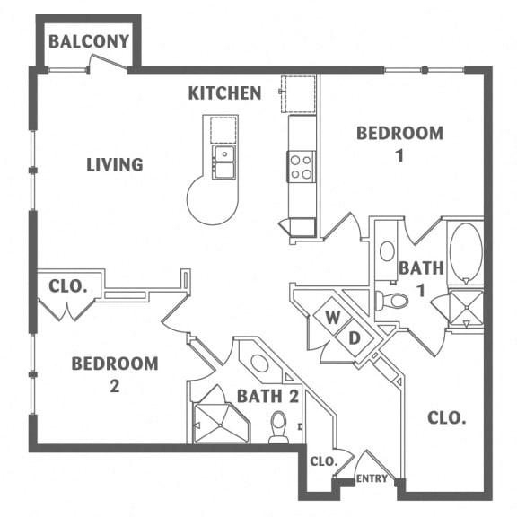 two bedroom downtown san antonio apartments