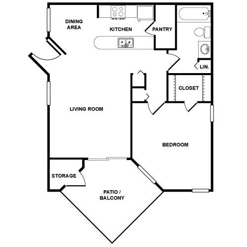 Floor Plan  A1 Floor Plan at Palmetto Grove, Charleston