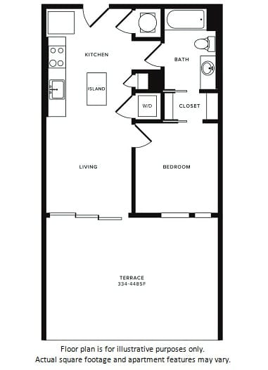 Floor Plan at Morningside Atlanta by Windsor, Atlanta, GA