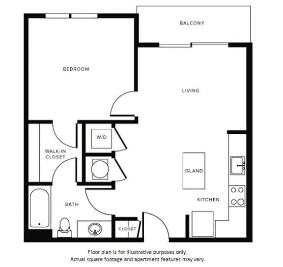 Floor Plan at Morningside Atlanta by Windsor, Georgia