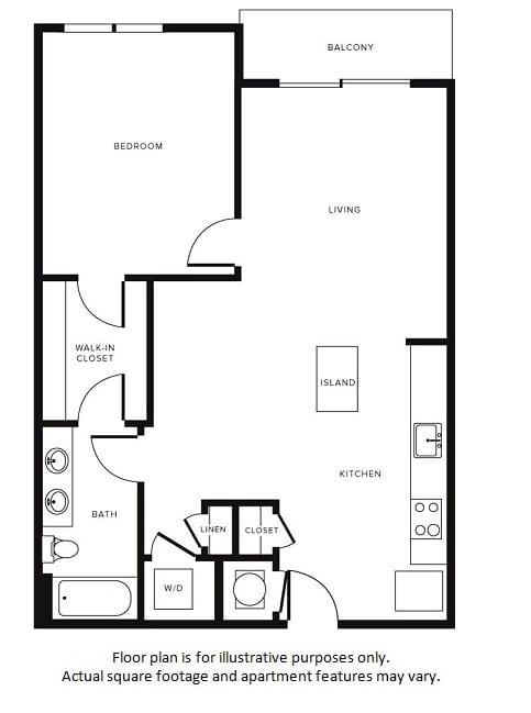 Floor Plan at Morningside Atlanta by Windsor, Georgia, 30324