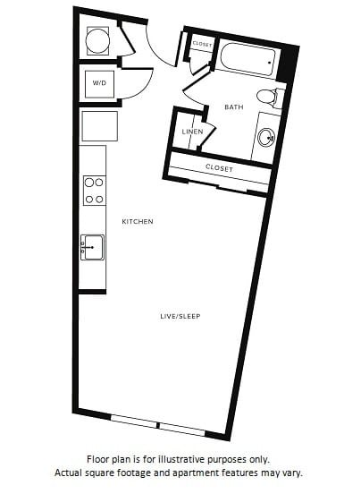 Floor Plan at Morningside Atlanta by Windsor, Atlanta