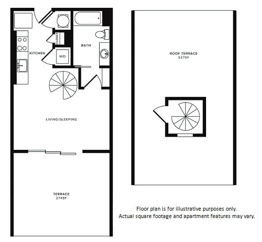 Floor Plan at Morningside Atlanta by Windsor, Atlanta,Georgia