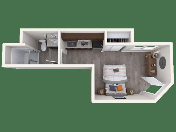Floor Plan  Rockefeller Floorplan Studio