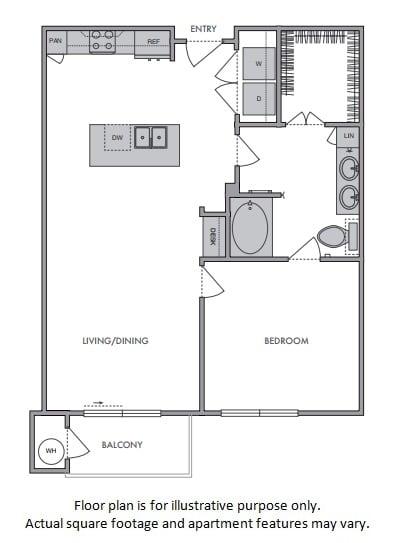 Floor Plan  C Floor Plan at Windsor Lantana Hills, Texas, 78735