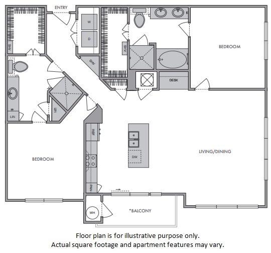 Floor Plan  G Floor Plan at Windsor Lantana Hills, Austin,Texas