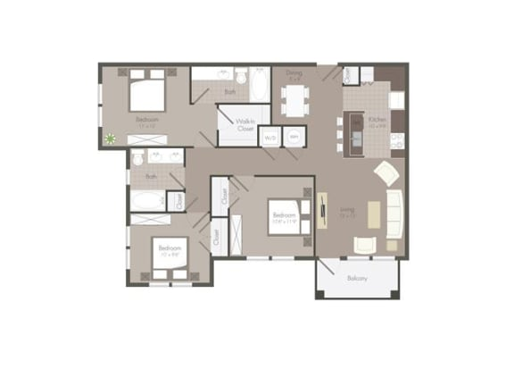 Floor Plan  Floor Plan at The Dorel Eagle Pass, Eagle Pass, 78852