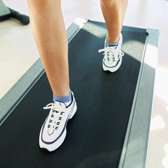 feet on treadmill_Taylor Yard Apartments, Los Angeles, CA