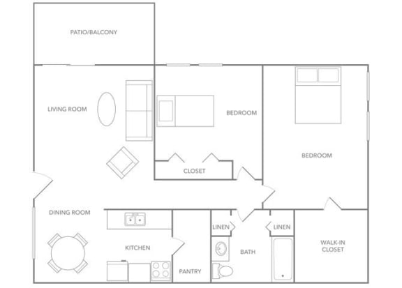 Floor Plan  Antigua 1000B Floor plan at Paradise Palms, Phoenix,Arizona