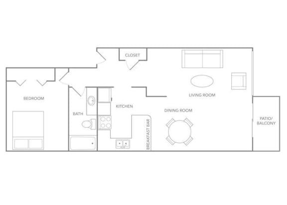 Floor Plan  Aruba 1000B Floor plan at Paradise Palms, Phoenix, AZ