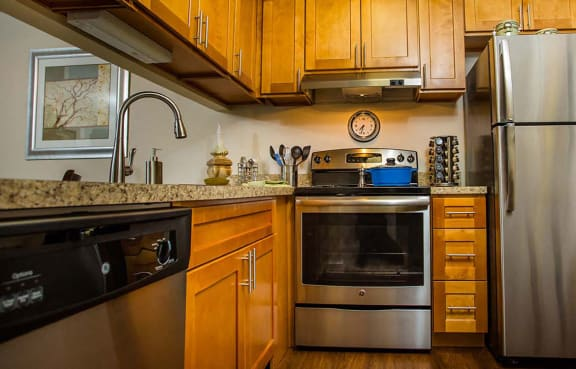 Stainless Steel Appliances at The Moorings, Illinois, 60172