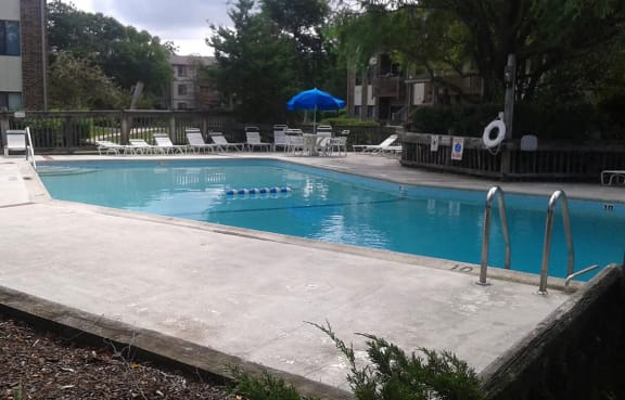 Resort-Style Pool at The Moorings, Roselle, IL, 60172