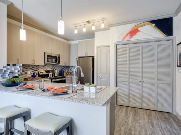 Model Kitchen Bar at The Emerson, Texas, 78660