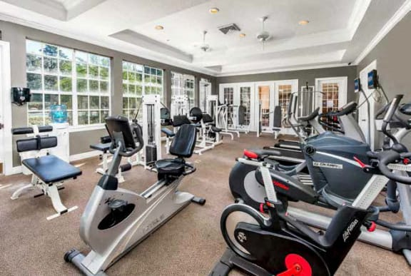 Fully Equipped 24-7 Fitness Center