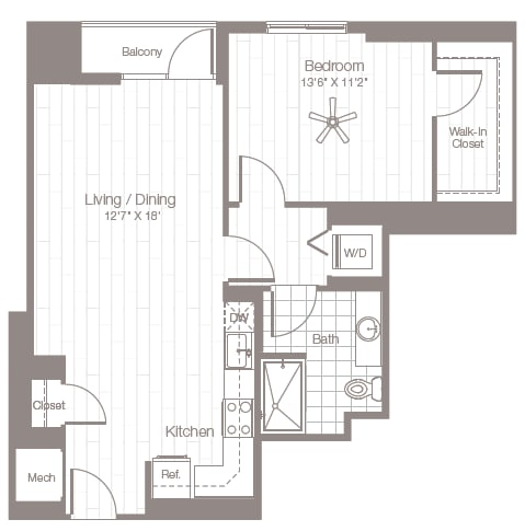 Floor Plan  A11