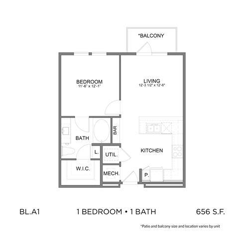 Floor Plan  BL.A1