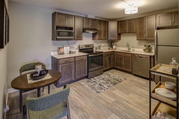 Kitchen Interior at Willow Crossing, Elk Grove Village