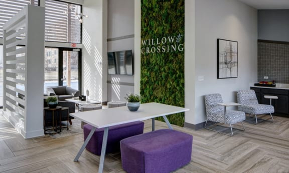 Redesigned Clubhouse at Willow Crossing, Elk Grove Village, 60007