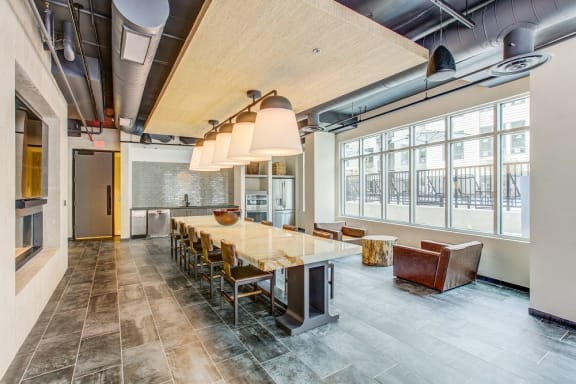 Clubhouse With Catering Kitchen at Centro Arlington, Virginia, 22204
