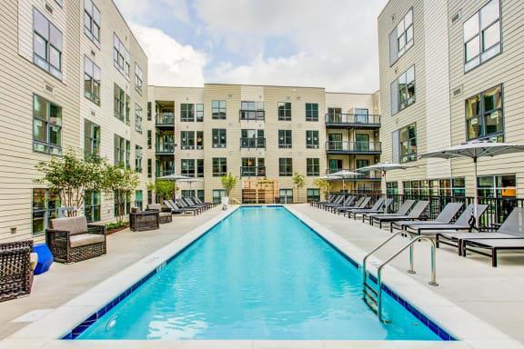 Secured Swimming Pool at Centro Arlington, Arlington