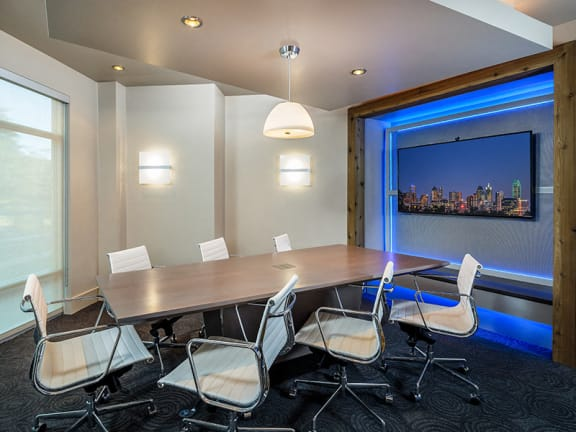 Conference Room in Dallas Apartments Near Me
