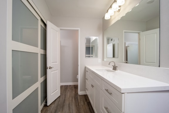 Unit Image - Bathroom at Parc at 5 Apartments, California
