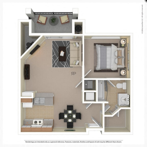Aurora Floor Plan