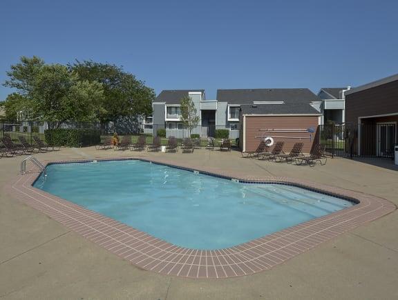 Sundeck Surrounding Outdoor Pool
