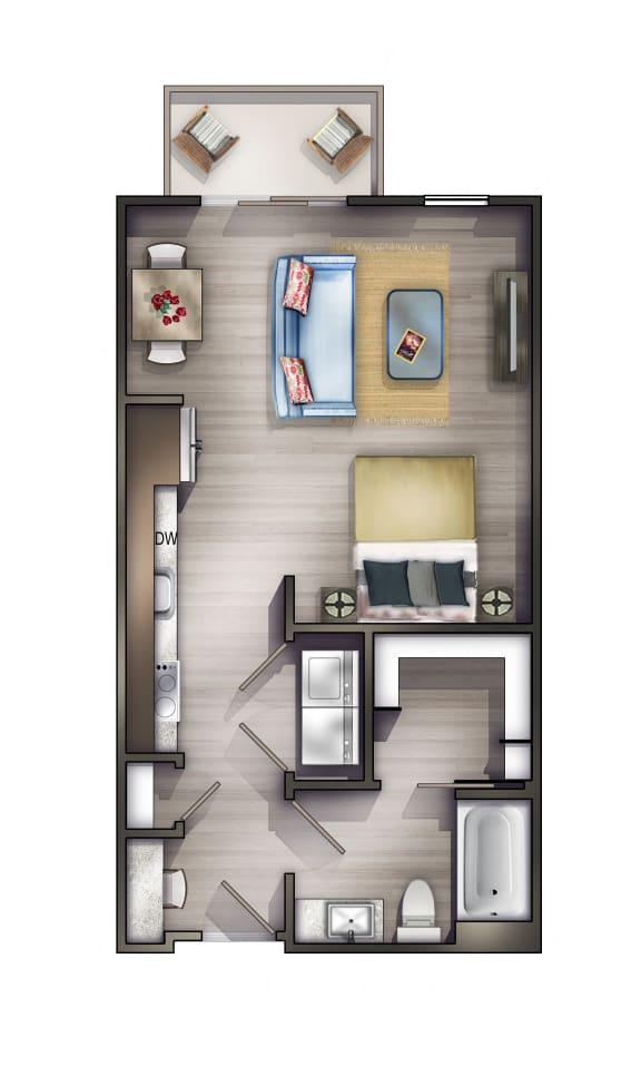 S1 Floor Plan at Peyton Stakes, Tennessee