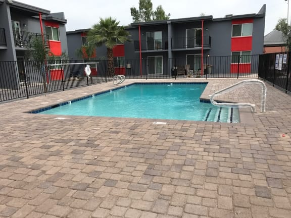 Pool at Alta Vista Apartments in Phoenix AZ
