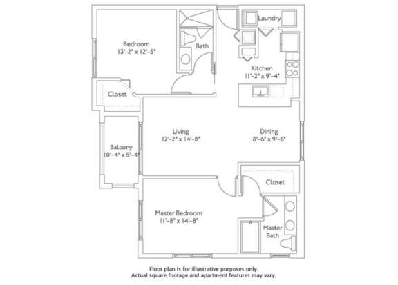 Floor plan at Mirador at Doral by Windsor, Doral, FL, 33122