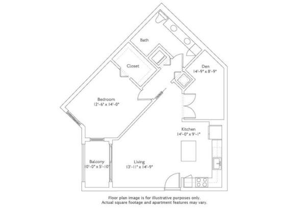 Floor plan at Mirador at Doral by Windsor, Doral