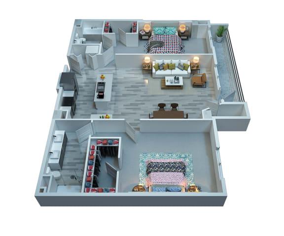 The Stewart Lennox Floor Plan