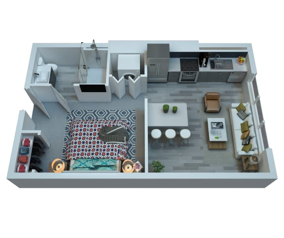 The Stewart Studio Floor Plan - Ronstadt