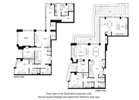 Floor Plan  Floor plan at The Bravern, Bellevue
