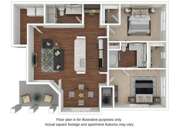 B1 Floor Plan at Retreat at the Flatirons