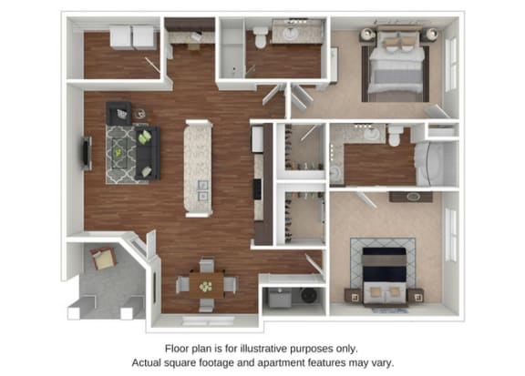 B9 Floor Plan at Retreat at the Flatirons