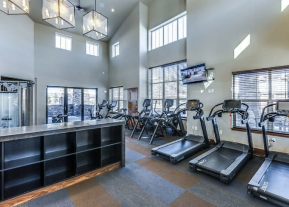 24 hour Fitness Center at Retreat at the Flatirons, Broomfield, Colorado