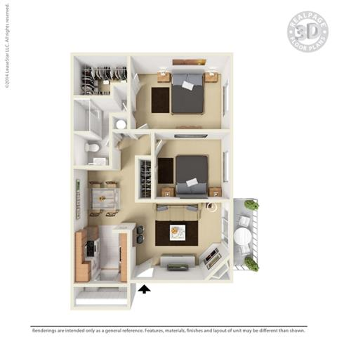 Floor Plan at Aviare Place, Midland, TX