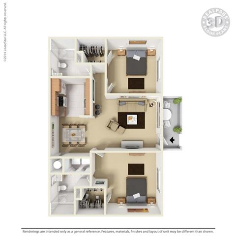 Floor Plan at Aviare Place, Texas, 79705