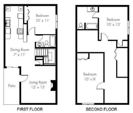Floor Plan at Aviare Place, TX