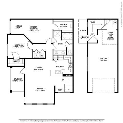Floor Plan at Orion McCord Park, Little Elm, TX
