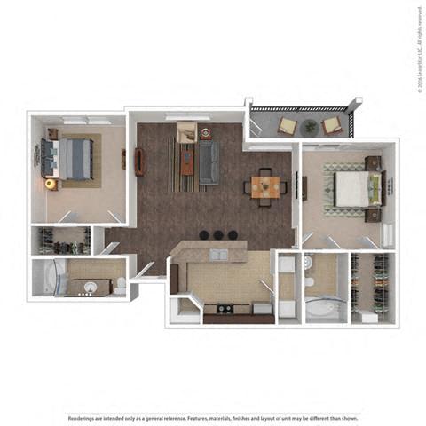 Floor Plan at Orion McKinney, Texas, 75070